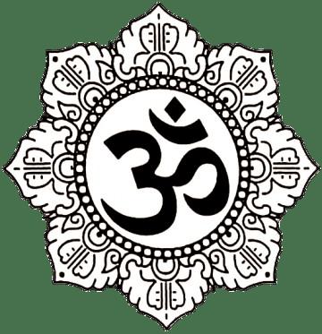 Om mantra in designed lotus flower transparent png stickpng om mantra in designed lotus flower mightylinksfo