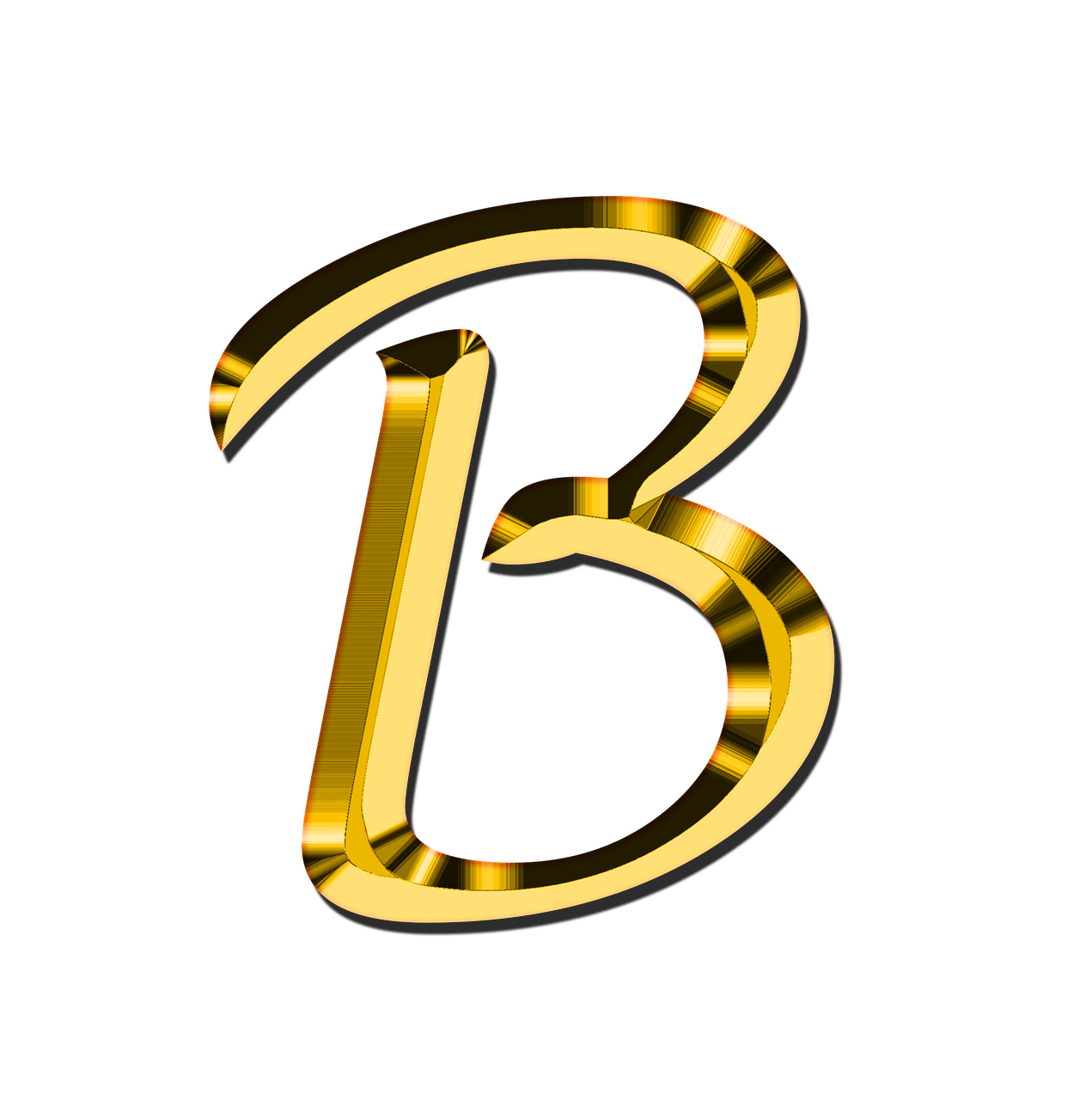 Capital Letter B Transparent PNG