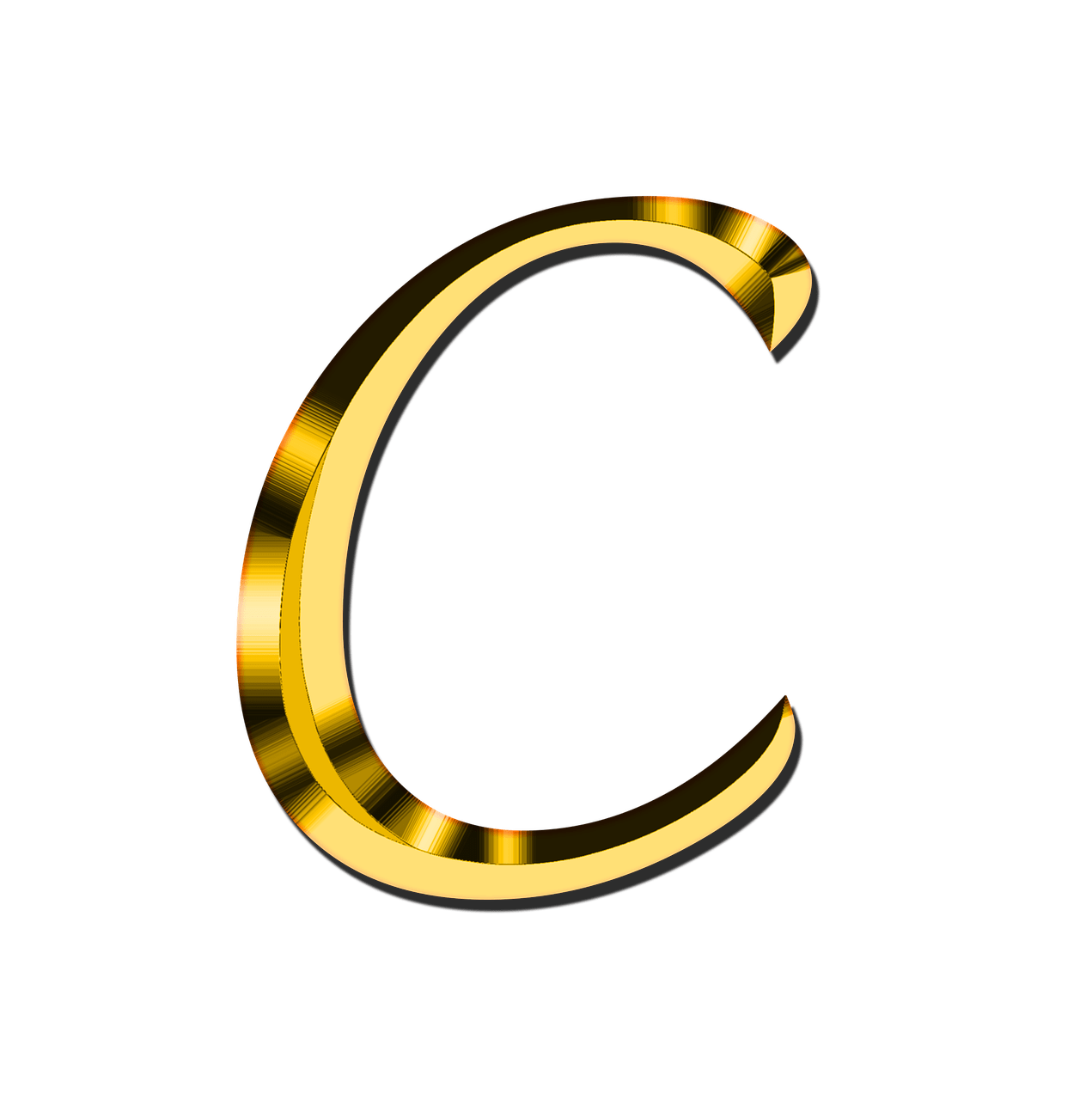 Capital Letter C transparent PNG - StickPNG