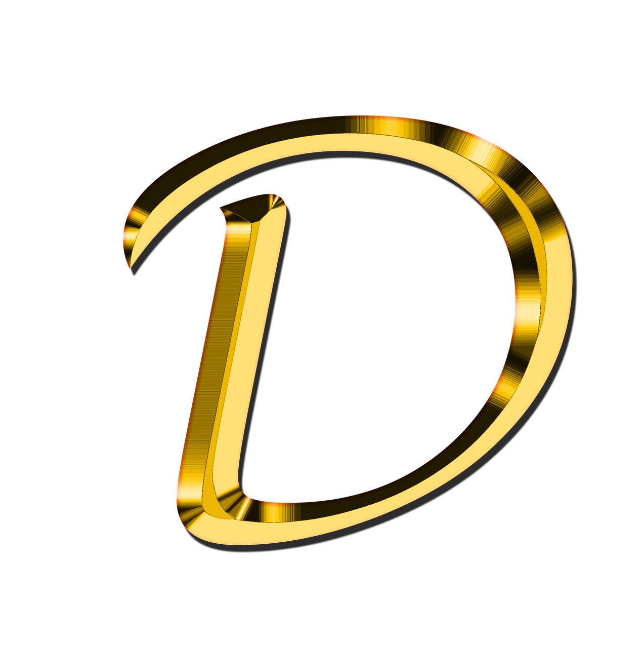 Capital Letter D Transparent Png Stickpng