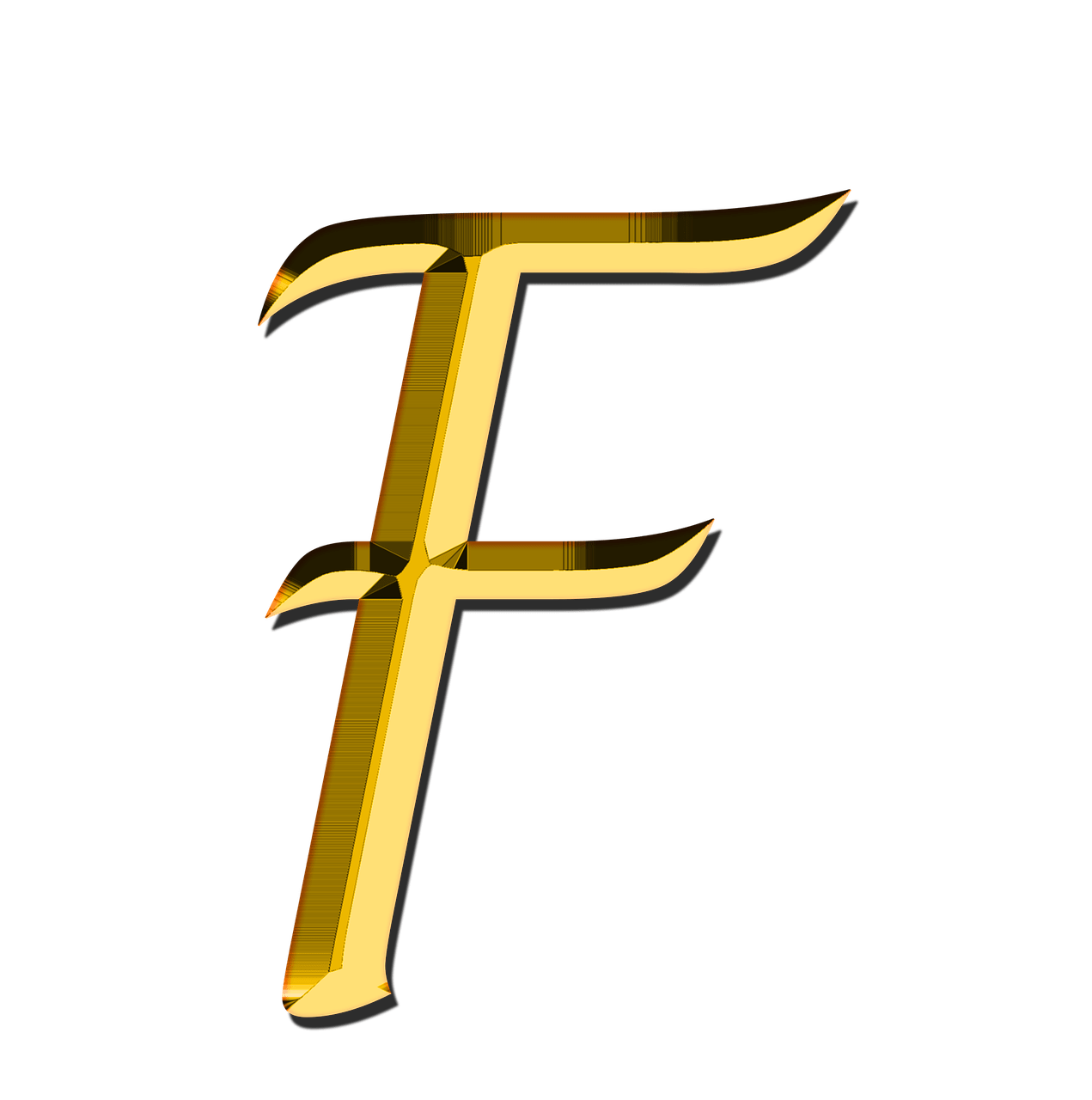 Capital Letter F Transparent PNG