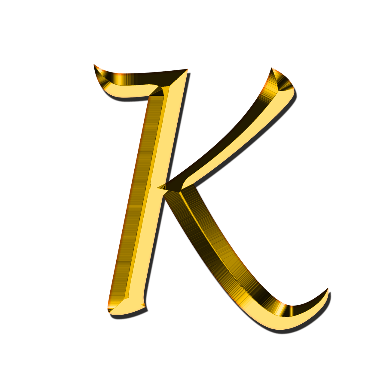 Capital Letter K transparent PNG - StickPNG