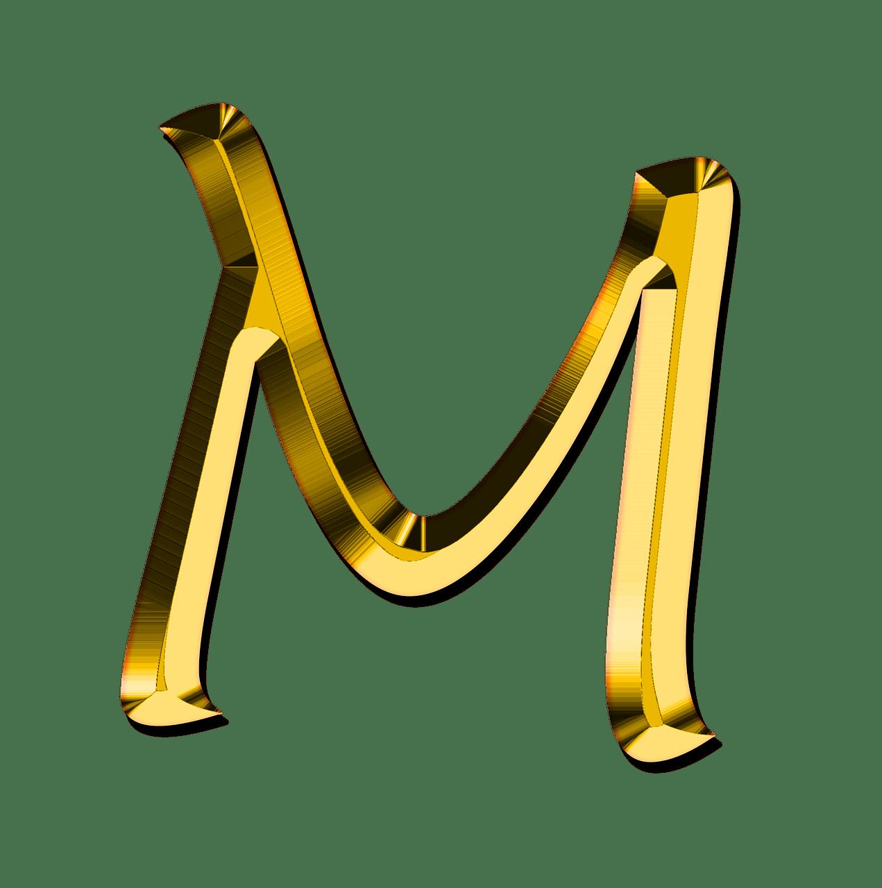 Capital Letter M Transparent PNG