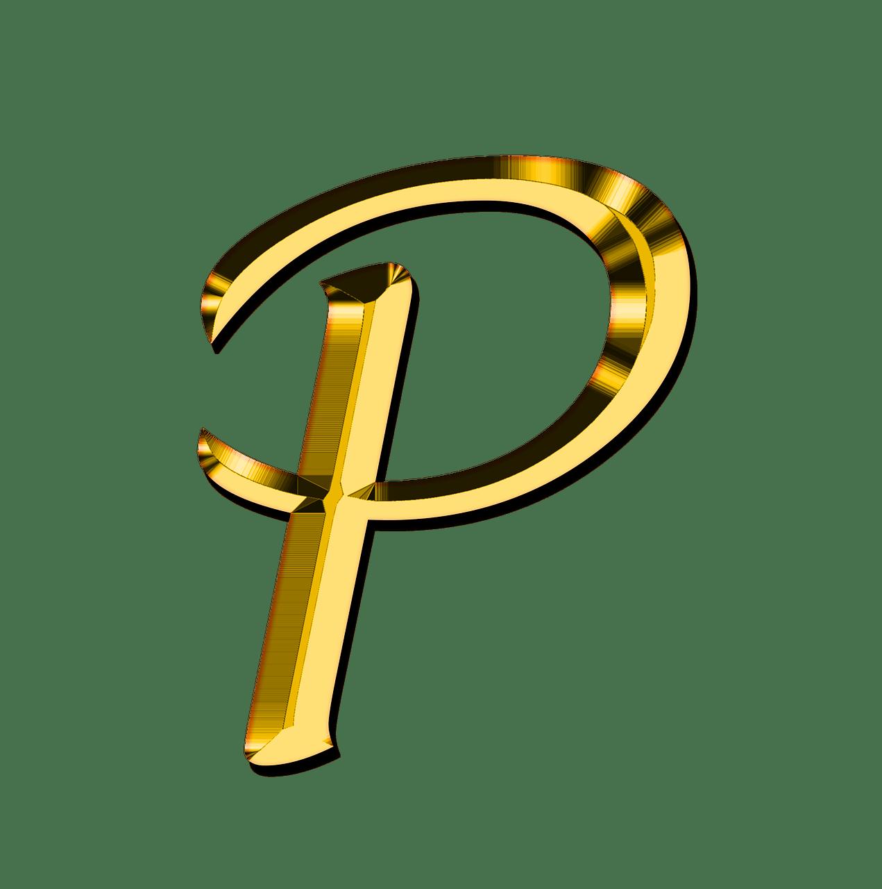 Capital Letter P Transparent PNG