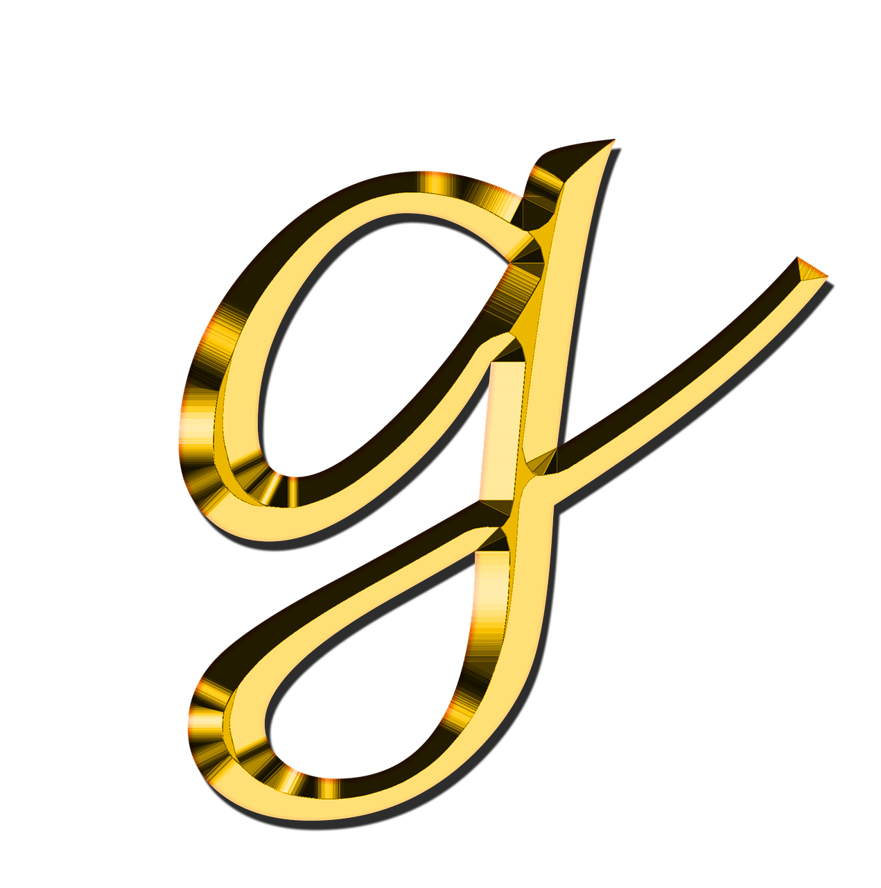 Small Letter G transparent PNG   StickPNG