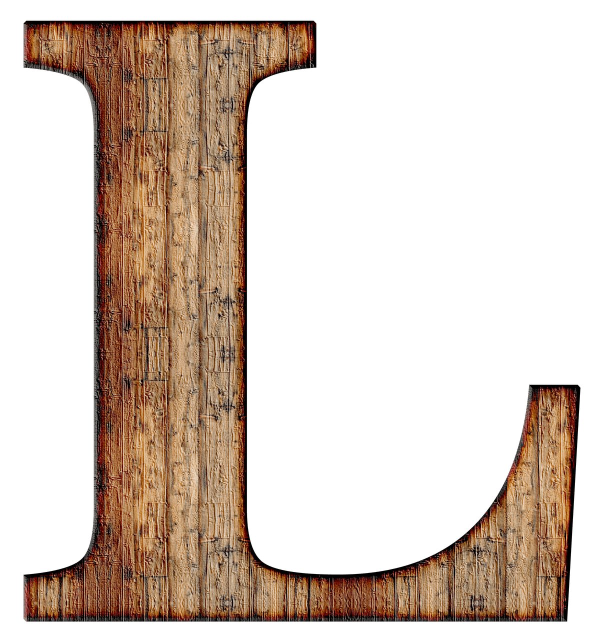 wooden capital letter l transparent png stickpng. Black Bedroom Furniture Sets. Home Design Ideas