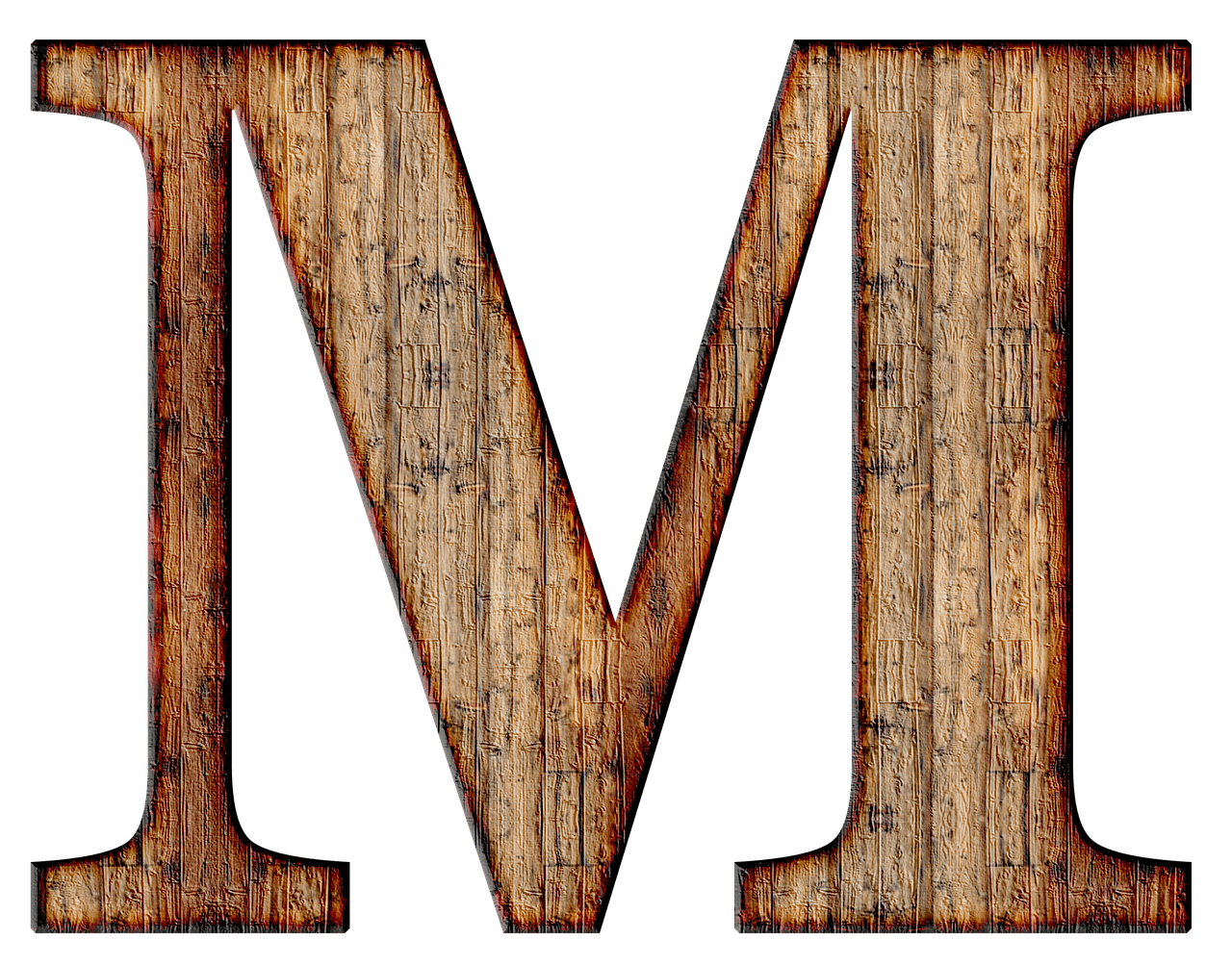Wooden capital letter m transparent png stickpng download thecheapjerseys Image collections