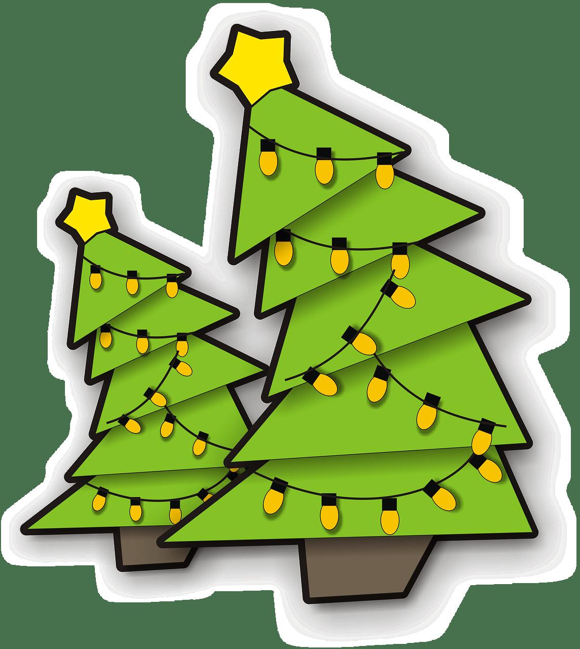 Sapin De Noël Avec Lumière Png Transparents Stickpng