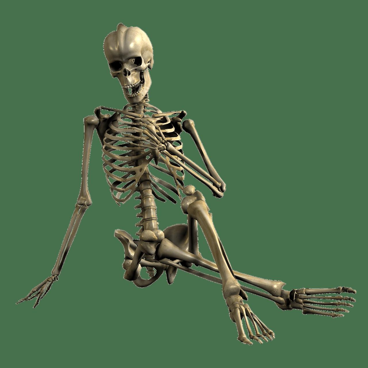 Esqueleto Mano en Frente del Pecho PNG transparente - StickPNG