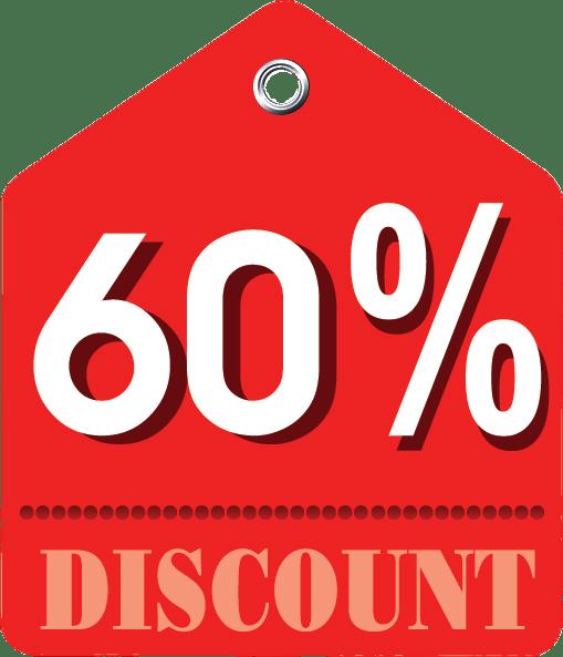 intheshopping.com 60% Dto