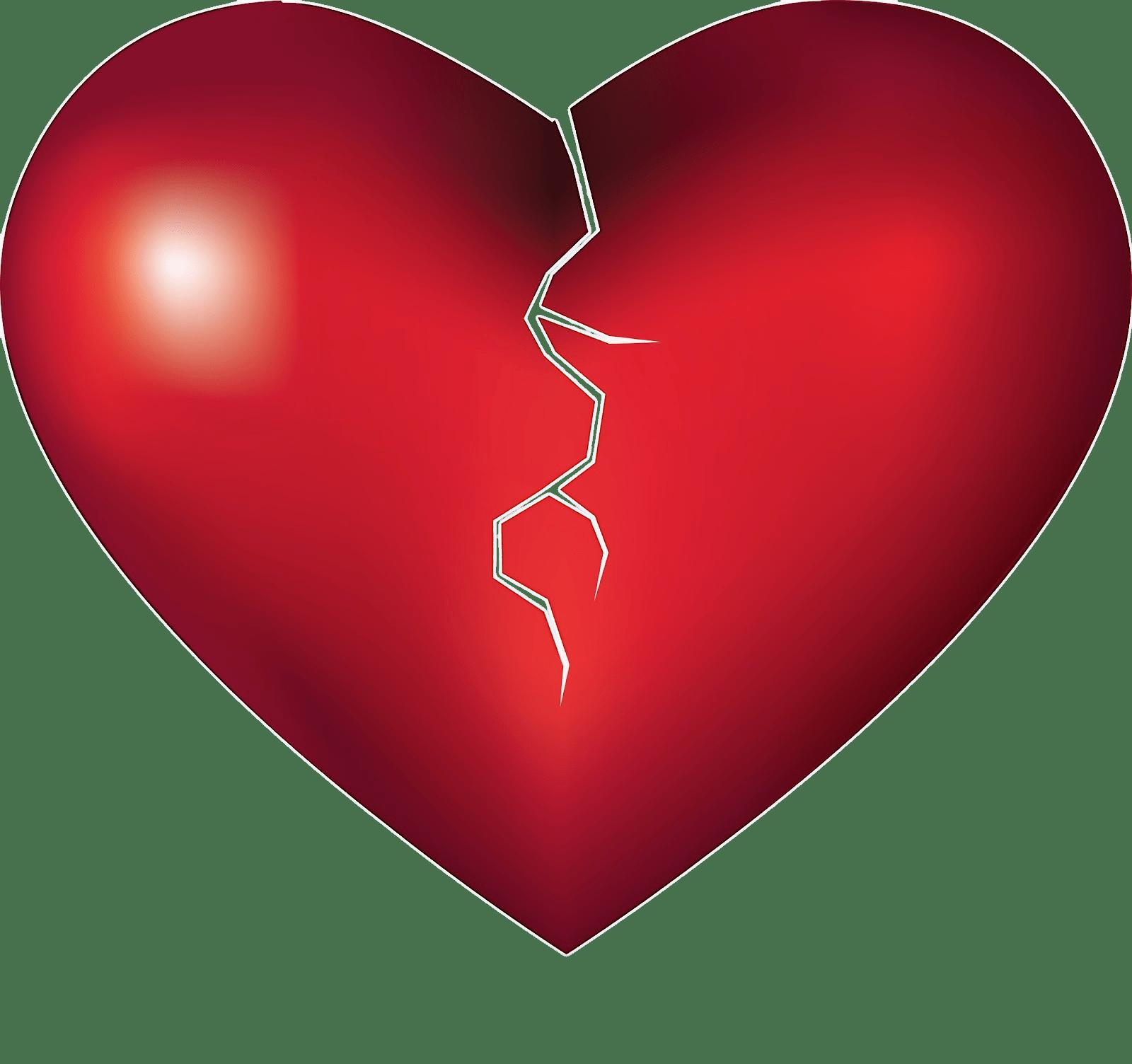 Breaking heart transparent png stickpng breaking heart buycottarizona