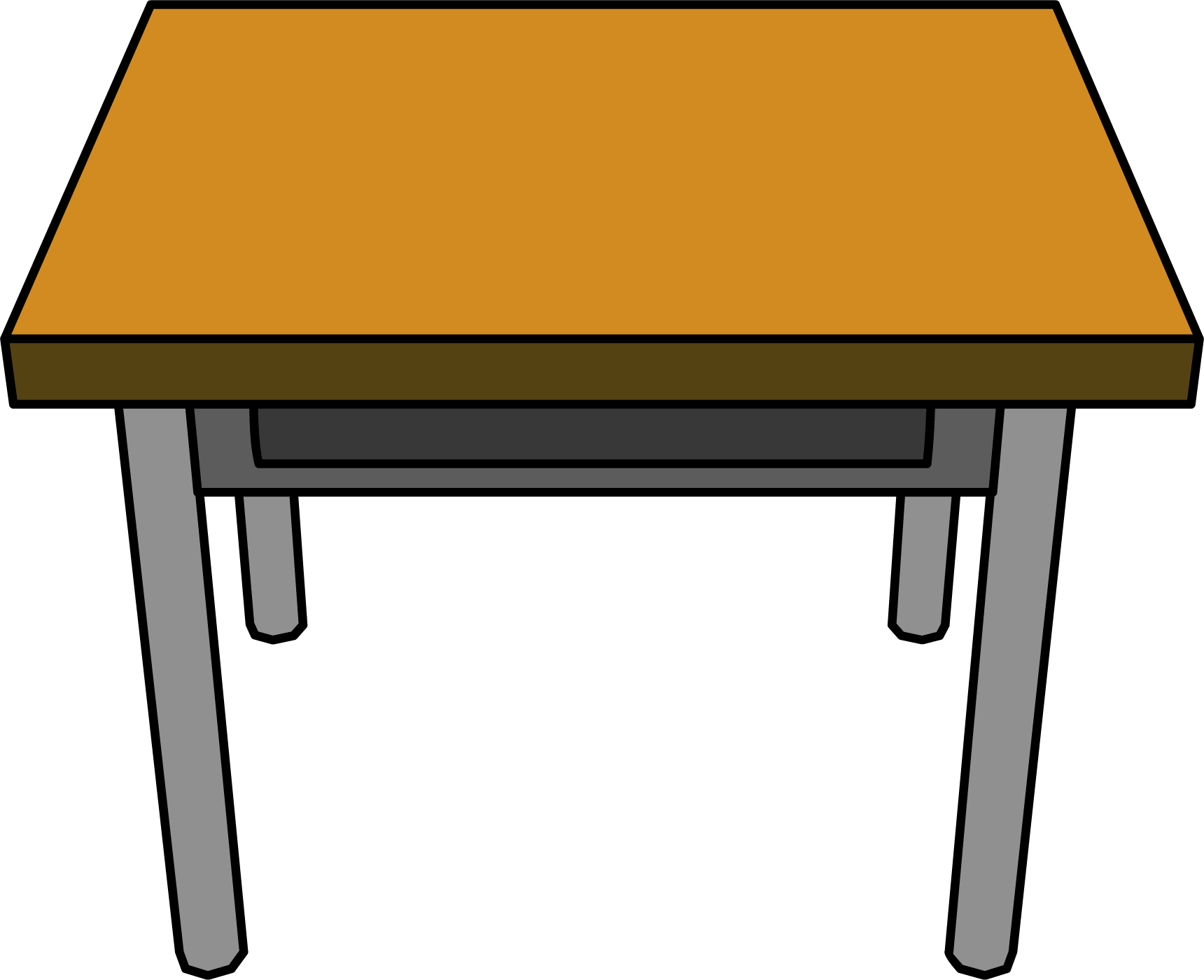 Desk Drawing Transparent PNG