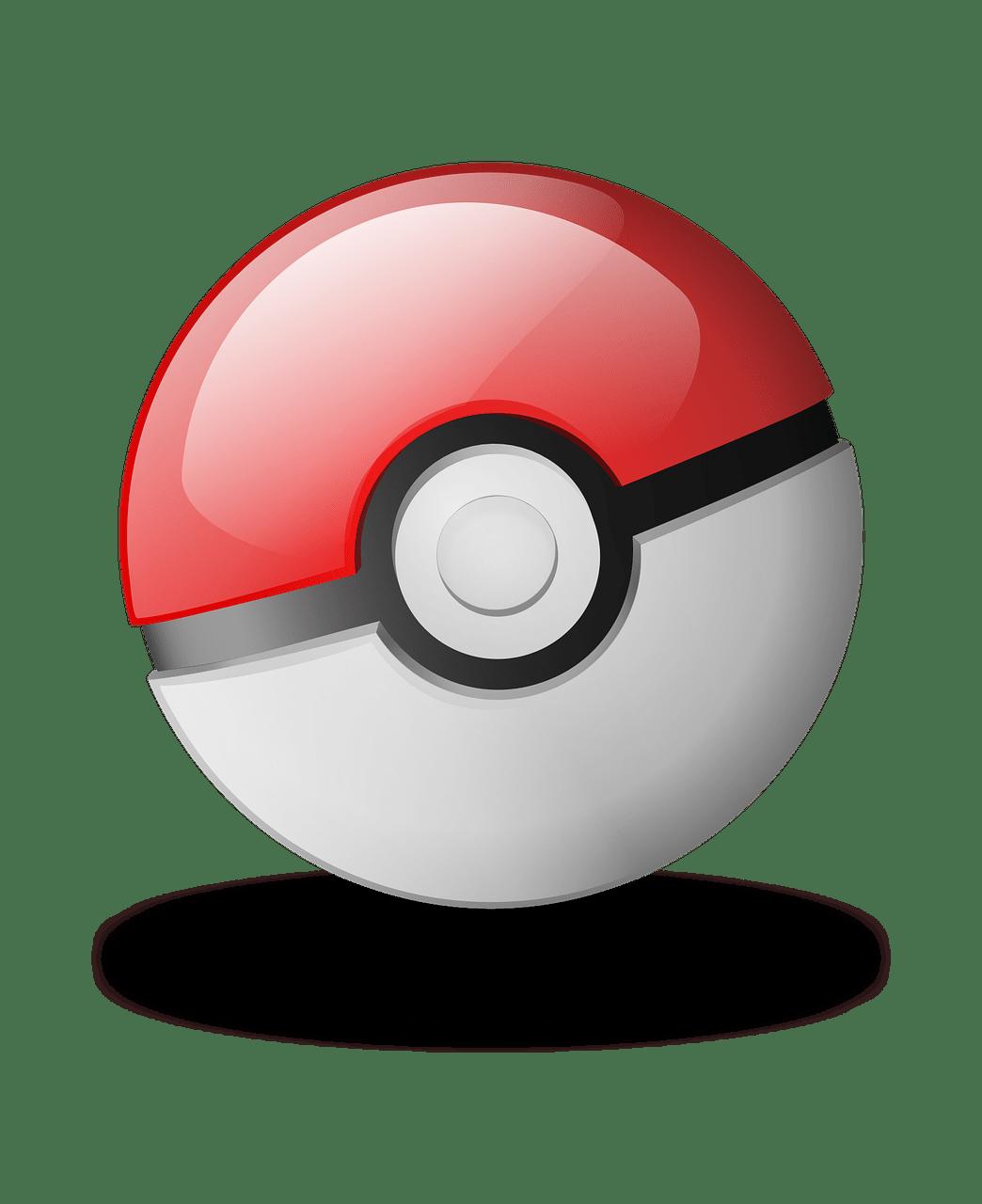 pokemon pokeball transparent png stickpng