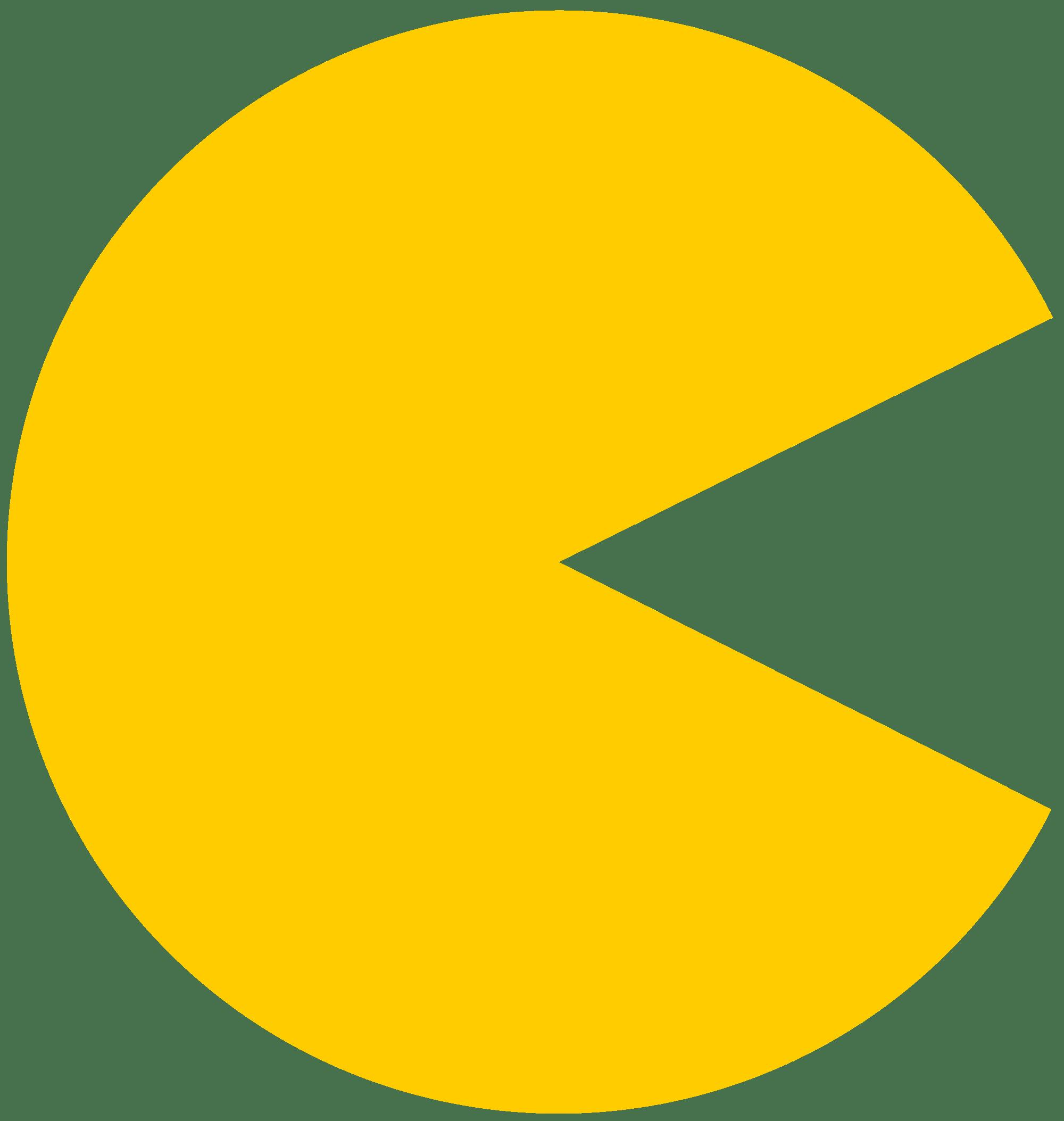 pac man plain yellow transparent png stickpng