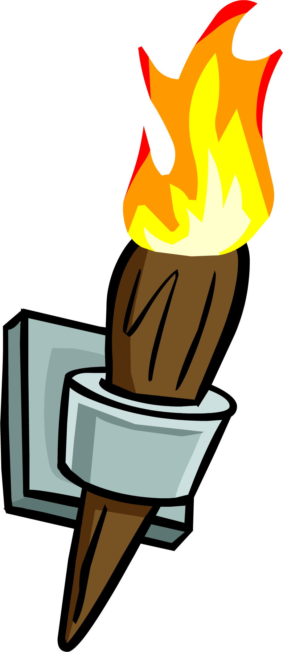 Wall Torch Clipart transparent PNG - StickPNG for Fire Torch Clipart  285eri
