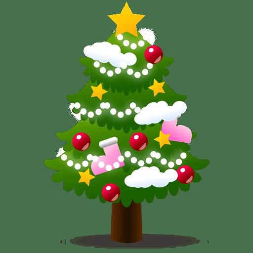 Emoji Grand Sapin De Noël Png Transparents Stickpng