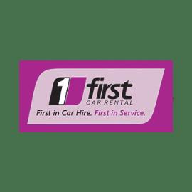 First Car Rental Logo Transparent Png Stickpng