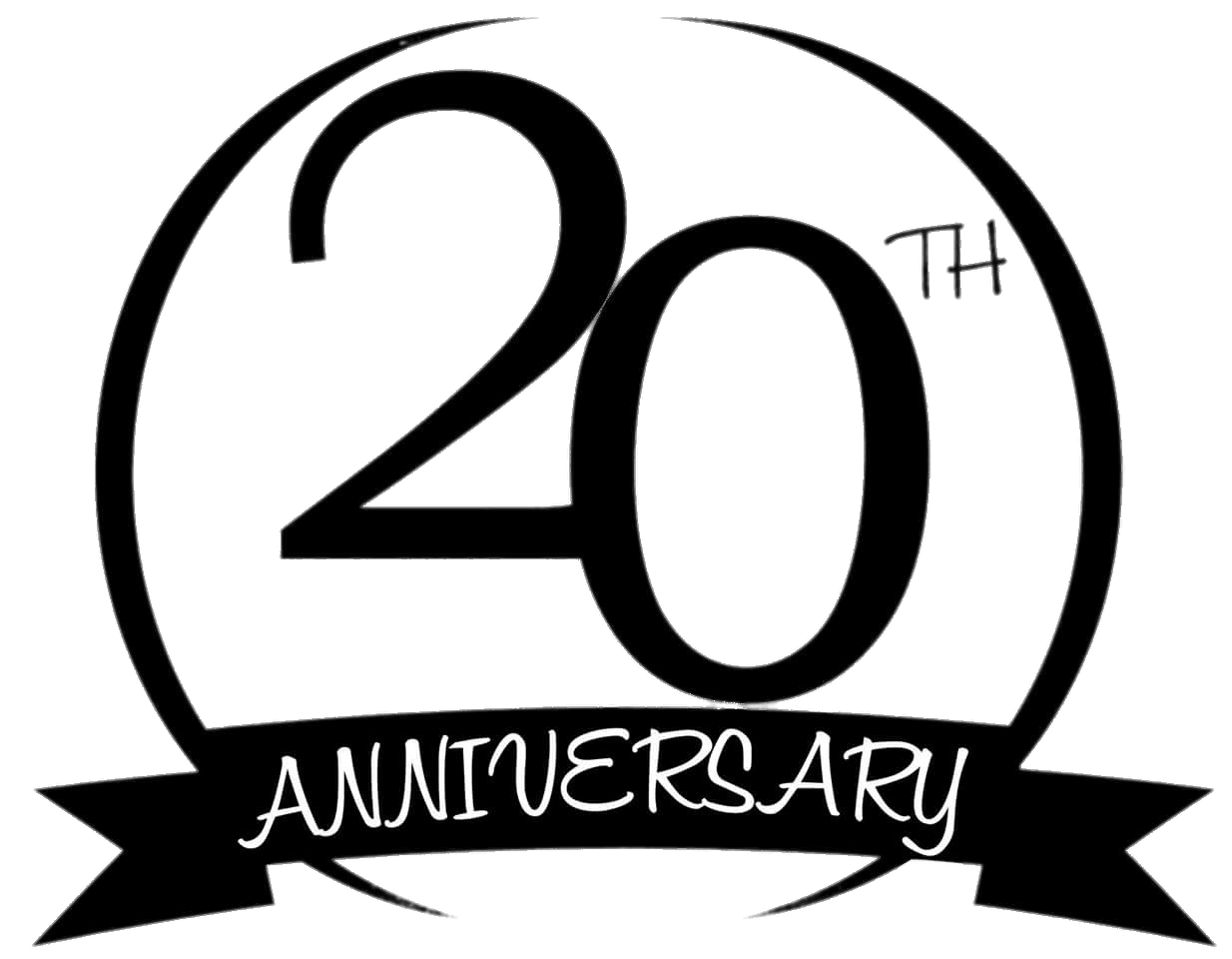 20th Anniversary Circle Transparent Png Stickpng