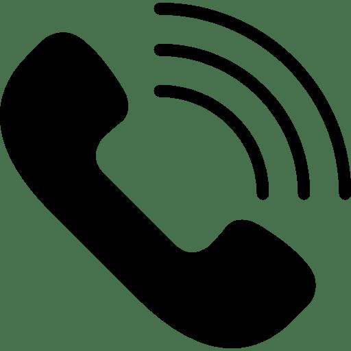 Icono Teléfono que Suena PNG transparente - StickPNG