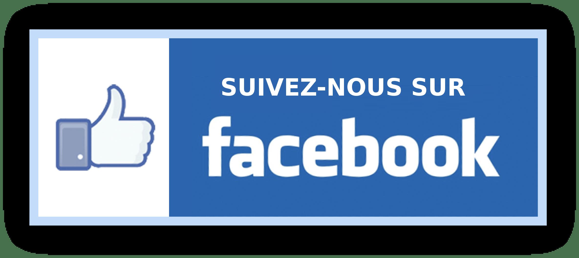 Suivez Nous Sur Facebook Rectangle PNG transparents - StickPNG