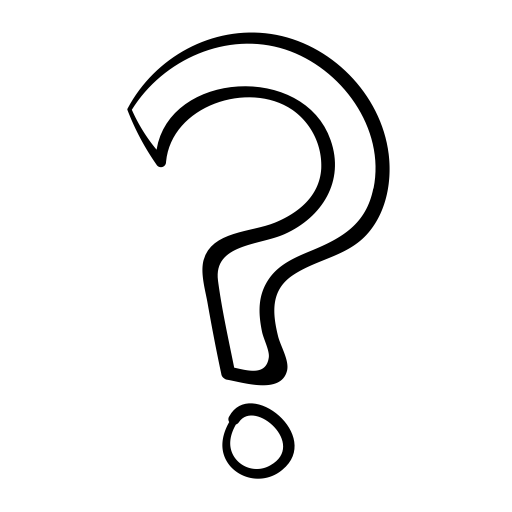 Question mark transparent background. Drawing png stickpng