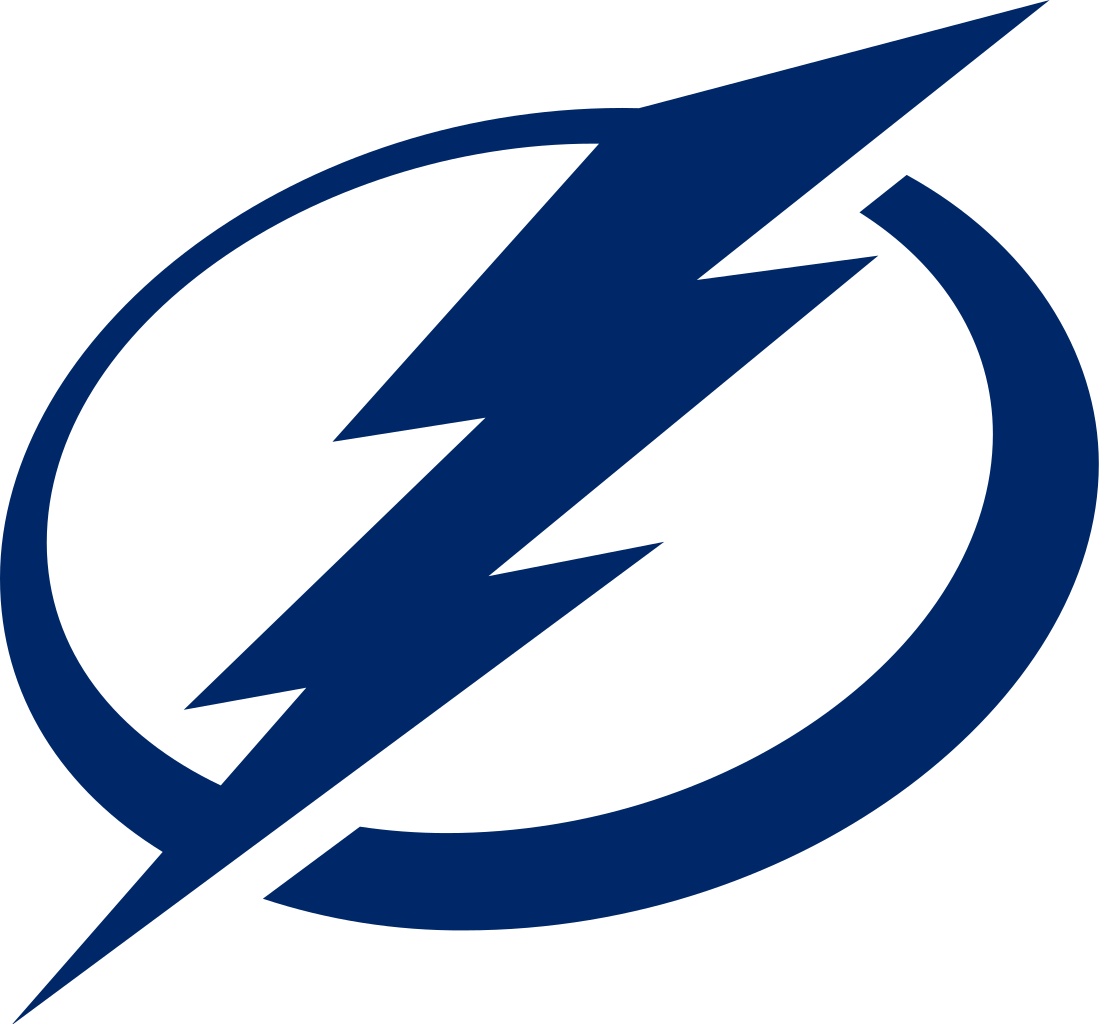 tampa bay lightning official logo transparent png stickpng stickpng