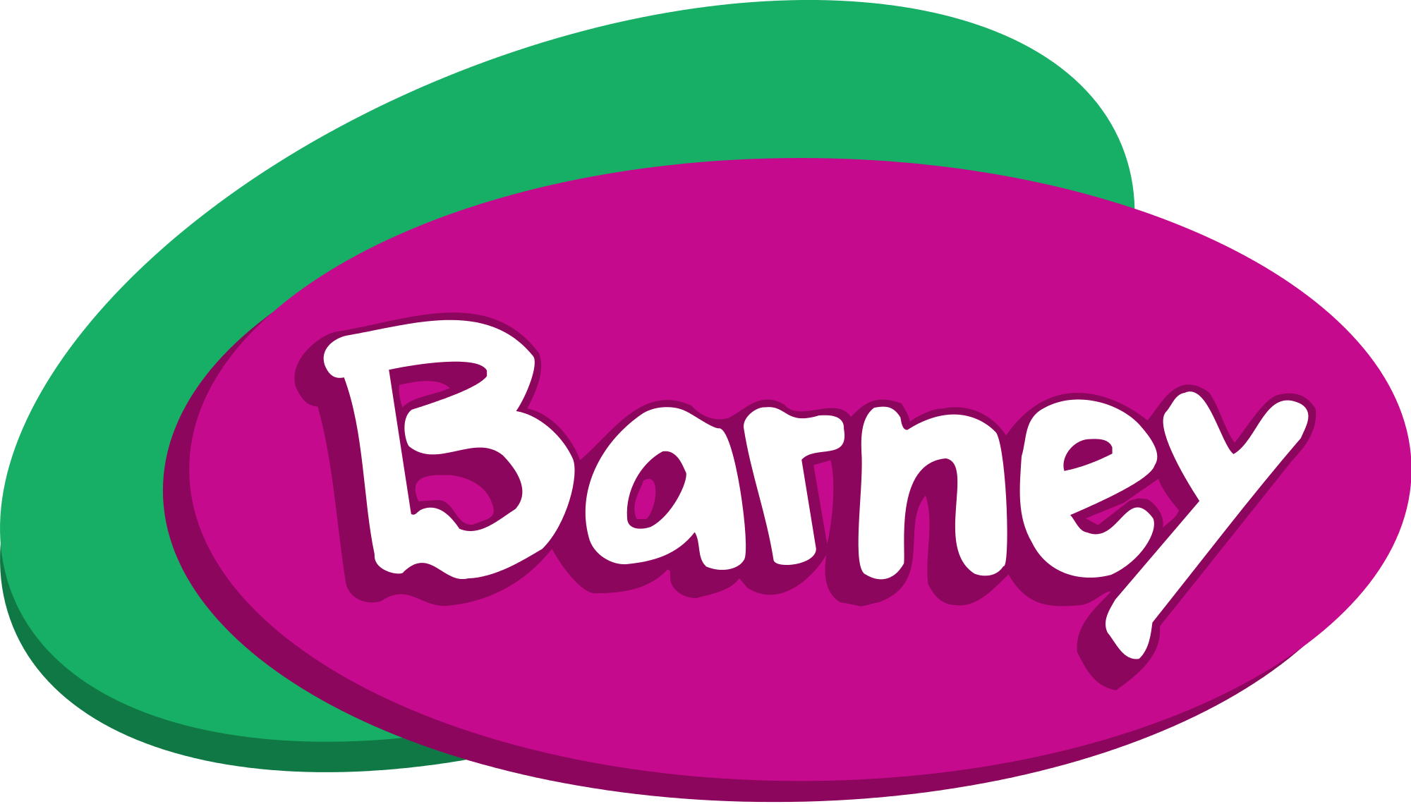 Barney And Friends Logo Transparent Png Stickpng
