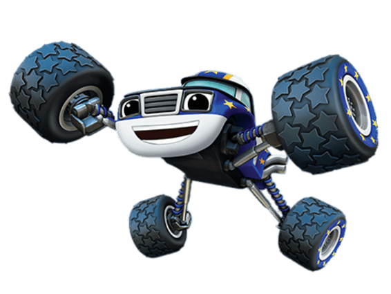 Blaze And The Monster Machines Darington Transparent Png Stickpng