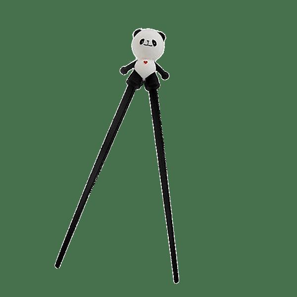 Chopsticks With Panda Helper transparent PNG - StickPNG