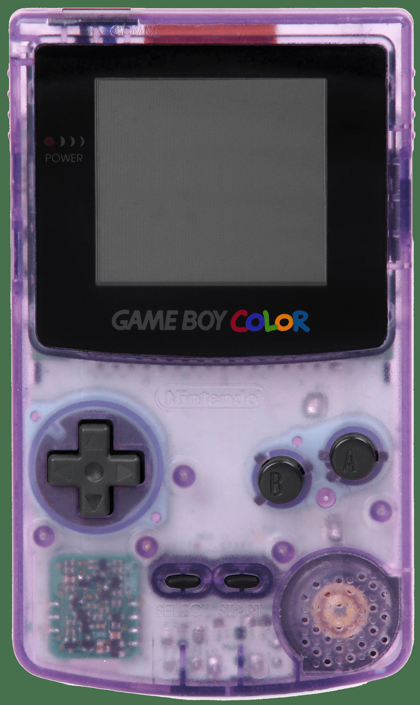 Game Boy Color Transparente Morado PNG transparente - StickPNG