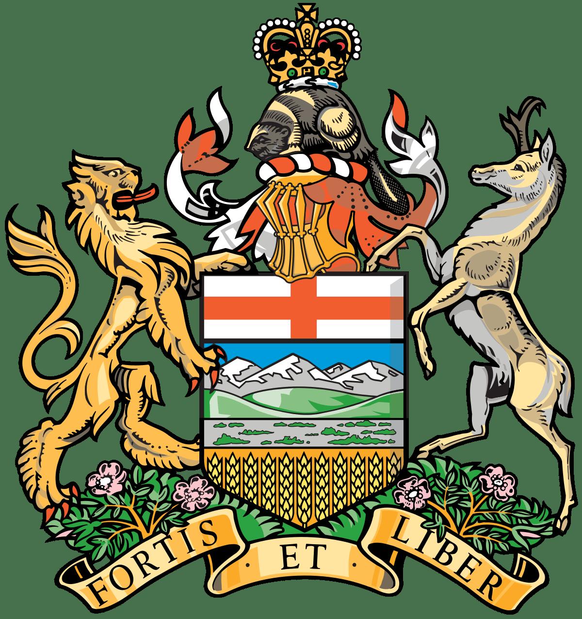 Coat Of Arms Alberta Transparent Png Stickpng