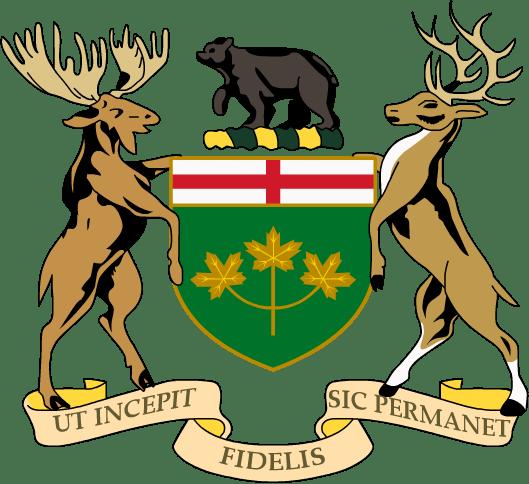 Coat Of Arms Ontario Transparent Png Stickpng