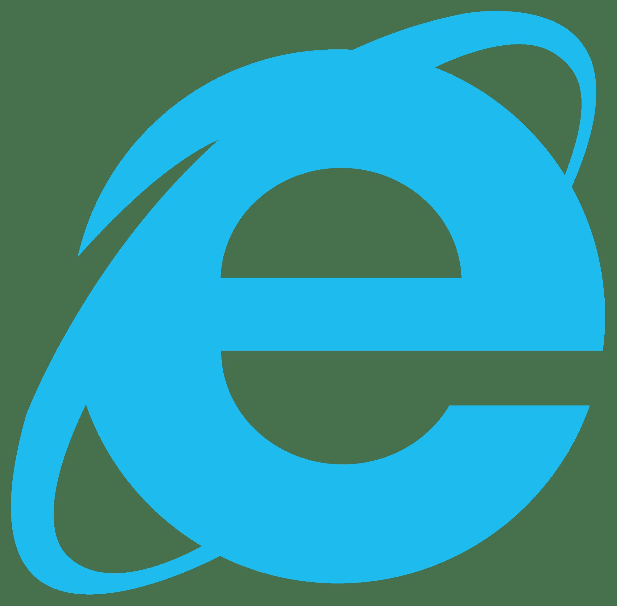 Internet Explorer 10 11 Logo transparent PNG - StickPNG