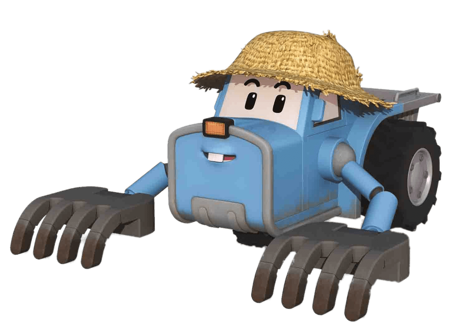 Robocar Poli Character Tracky Transparent Png Stickpng
