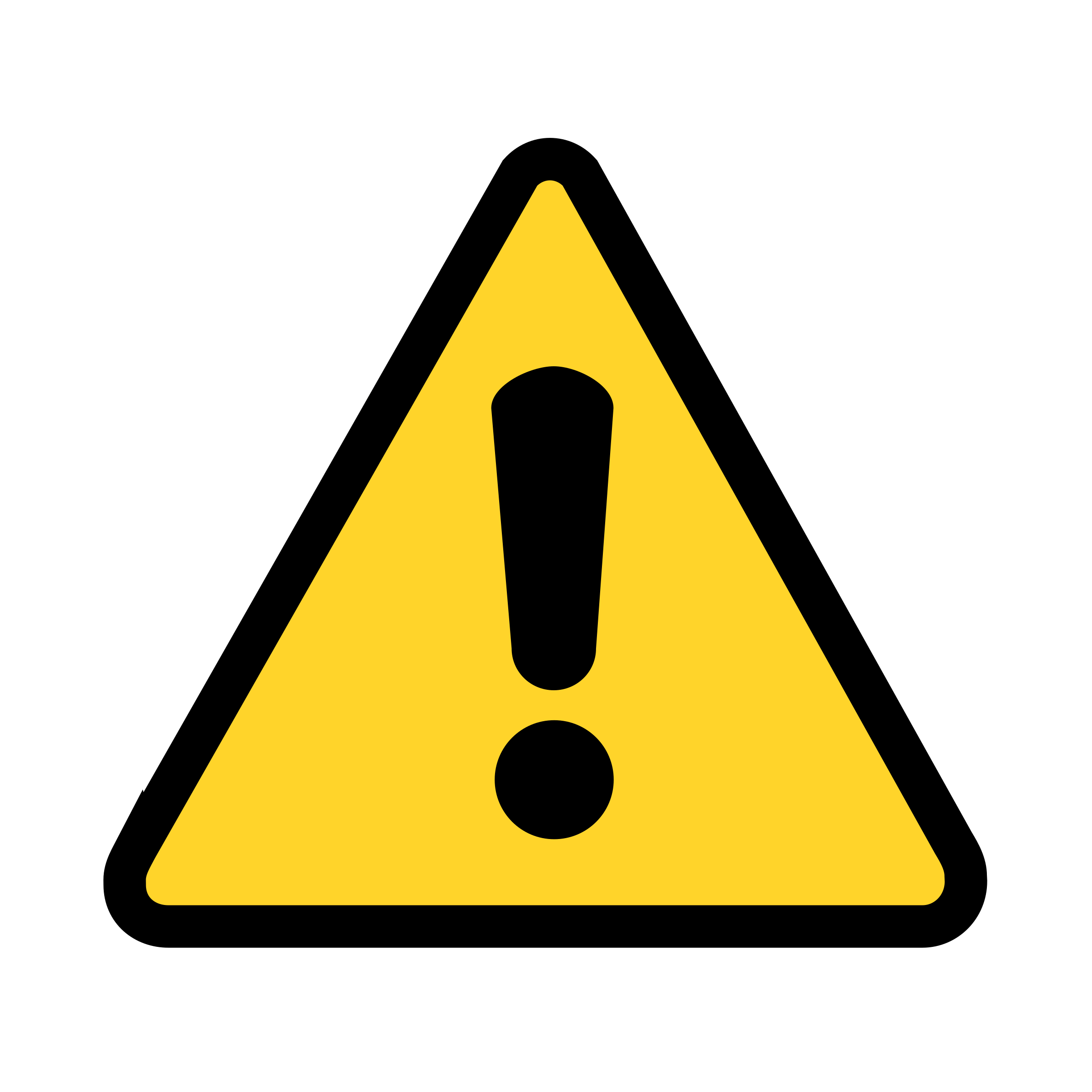 warning icon transparent png stickpng