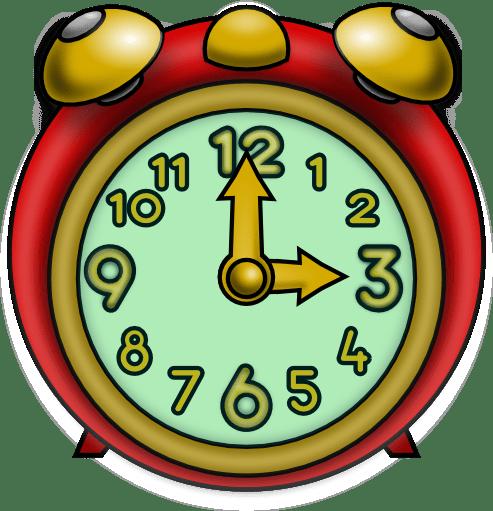 Three O Clock Clipart Transparent Png Stickpng