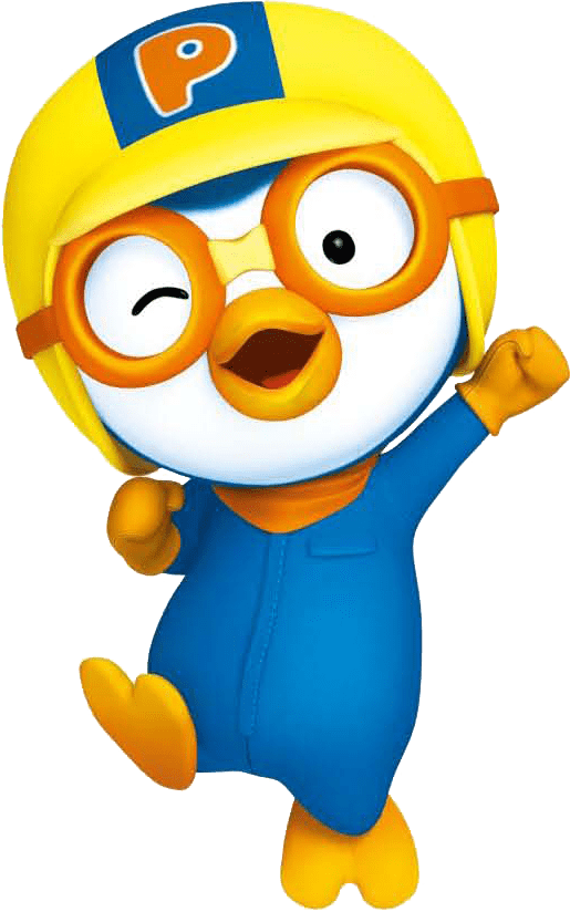 Pororo cheering transparent png stickpng at the movies cartoons pororo altavistaventures Image collections