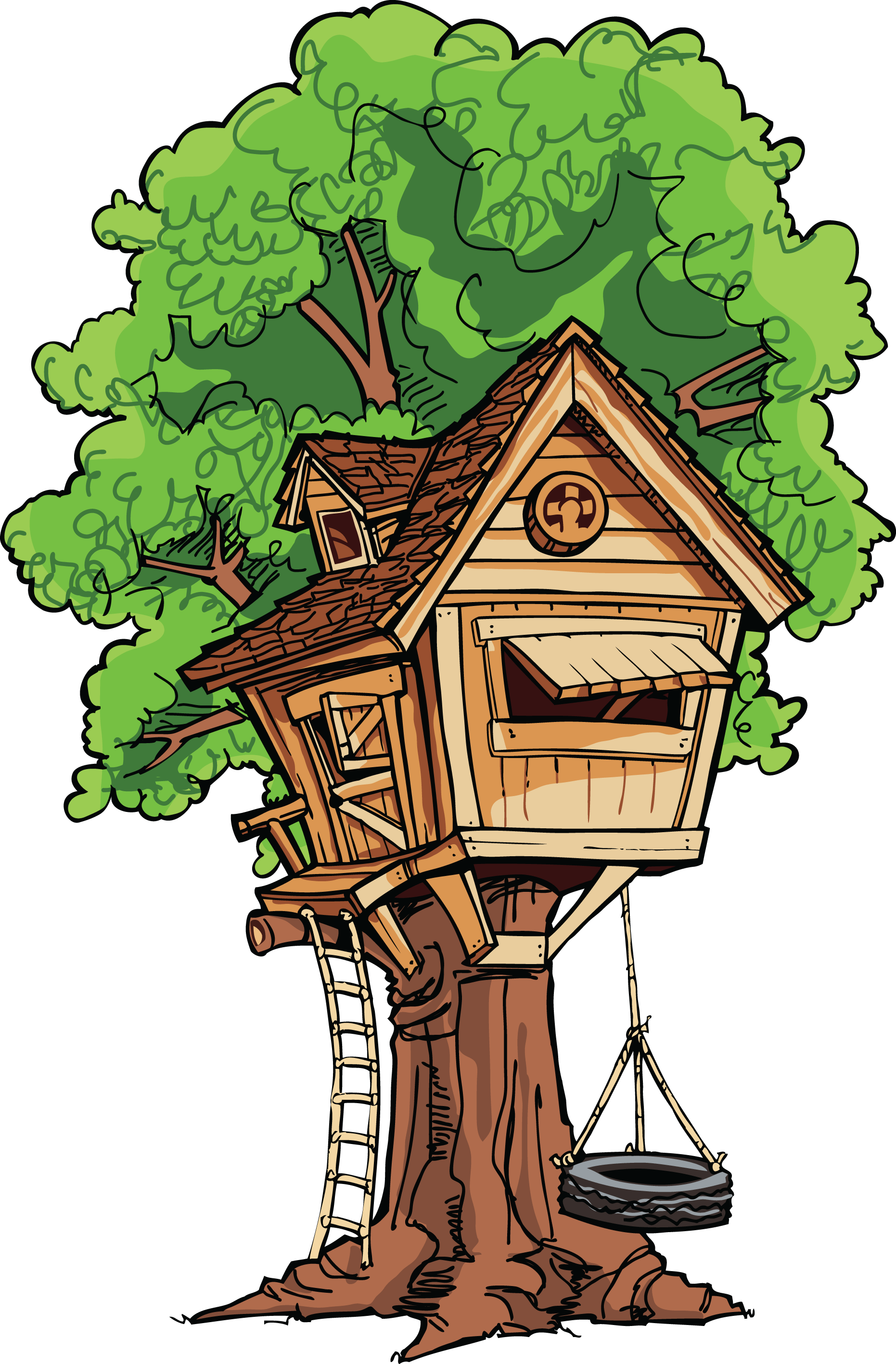 Large Treehouse Transparent Png Stickpng Use these free cartoon tree house png #66845 for your personal projects or designs. stickpng