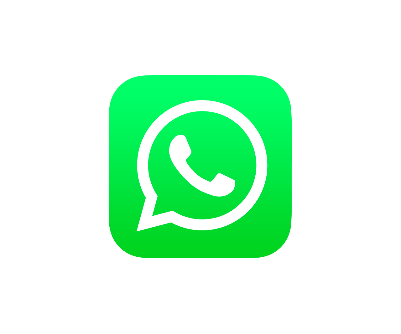 Whatsapp Ios Icono PNG transparente - StickPNG