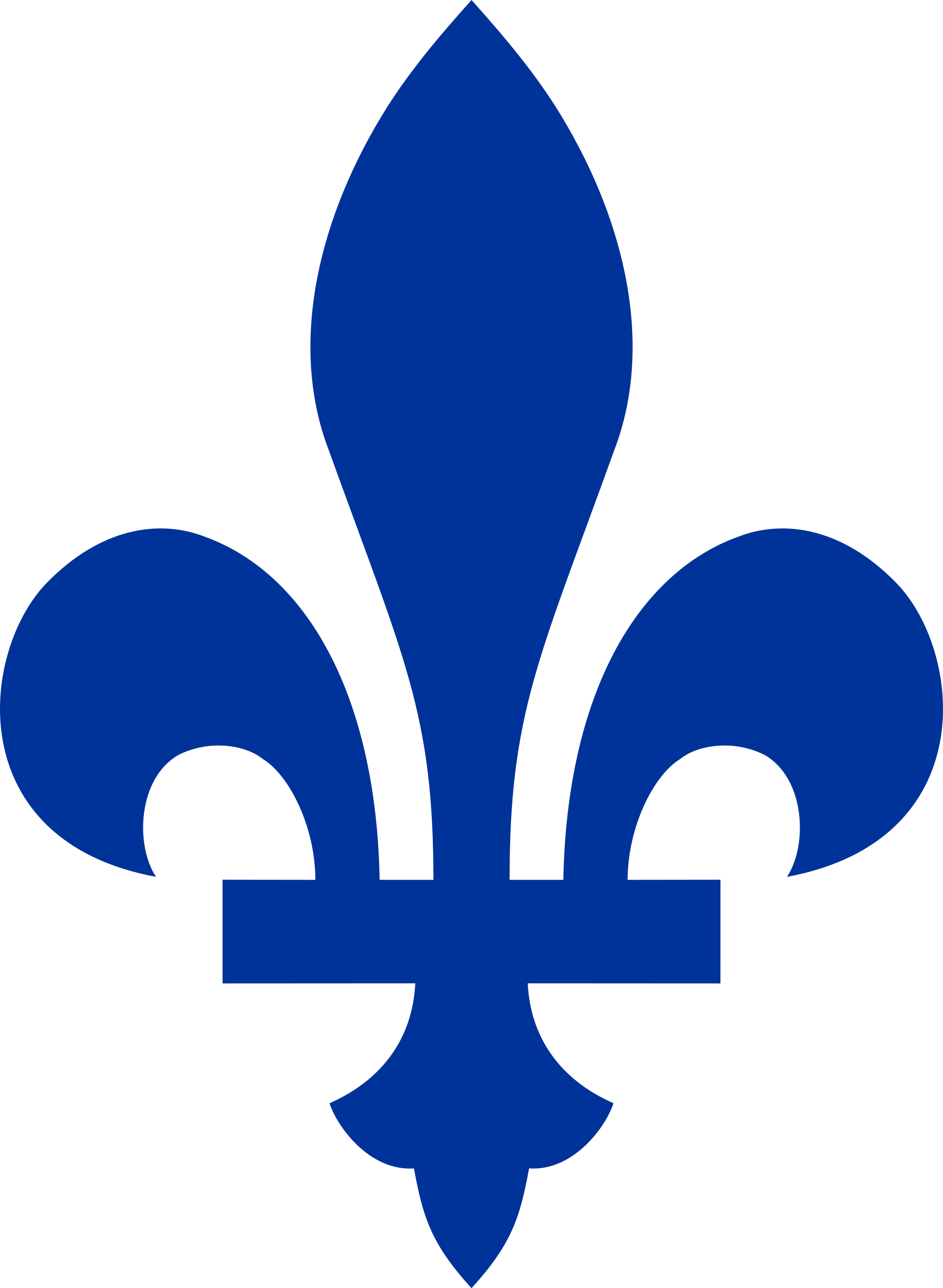Quebec Fleur De Lis Transparent Png Stickpng