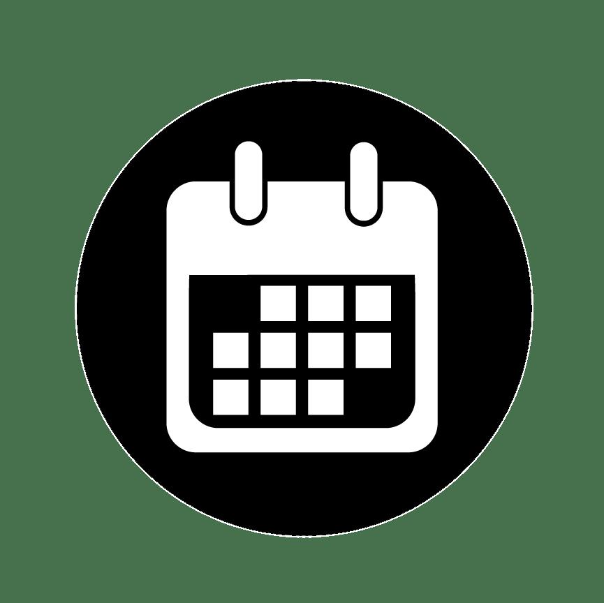 Calendario Clipart.Calendar Emblem Transparent Png Stickpng