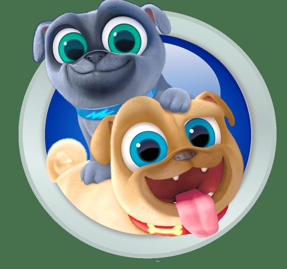 Puppy Dog Pals Emblem Transparent Png Stickpng