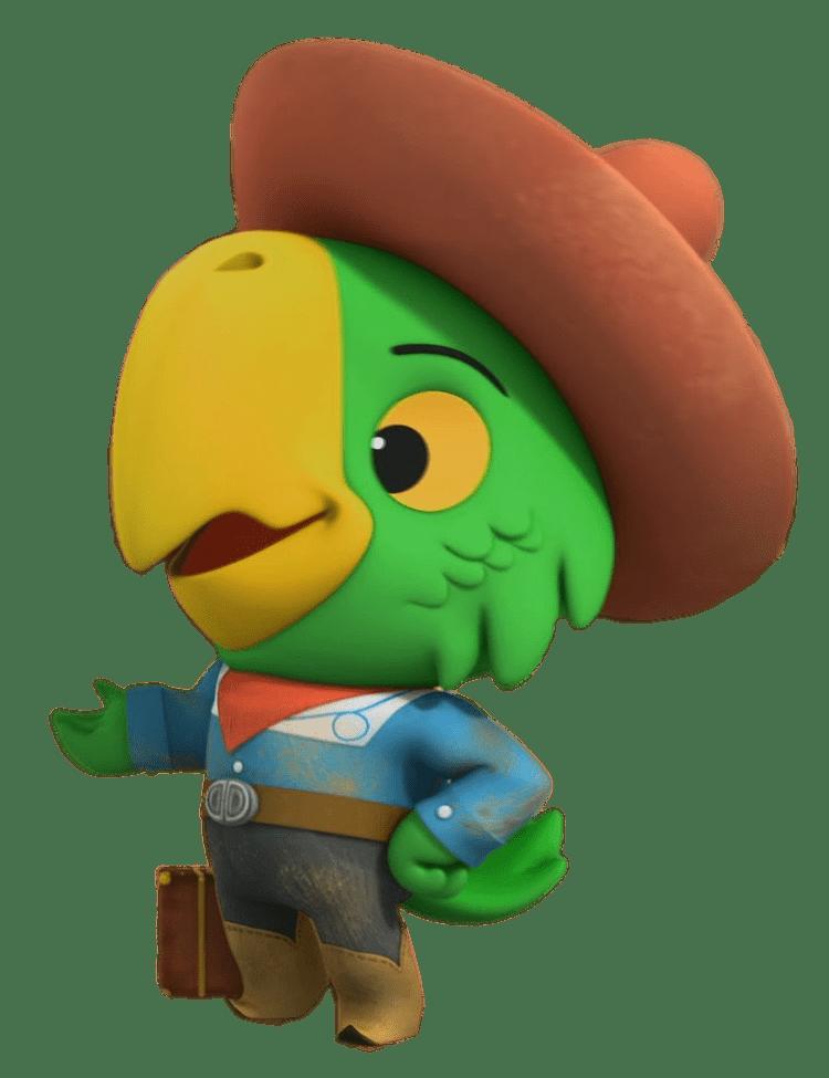La Sheriff Callie En El Oeste Loro Pedro Png Transparente