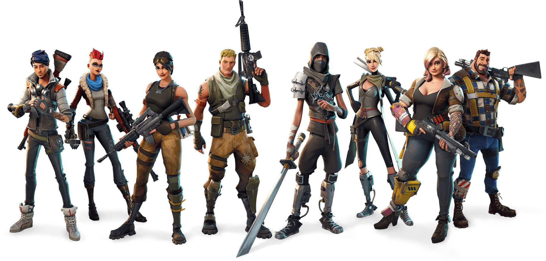 Fortnite transparent. Characters png stickpng