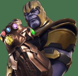 Thanos Fortnite Transparent Png Stickpng
