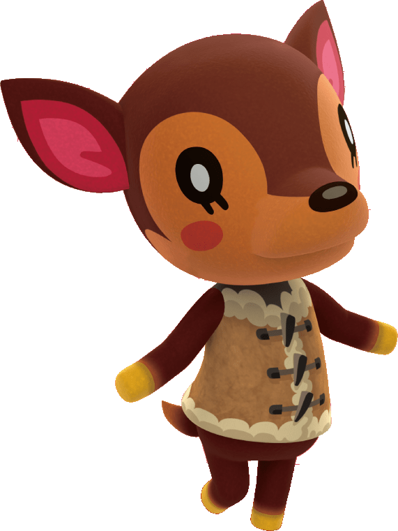 Animal Crossing Fauna Transparent Png Stickpng
