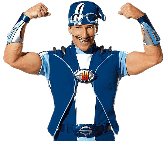 Sportacus Strong Arms Transparent Png Stickpng