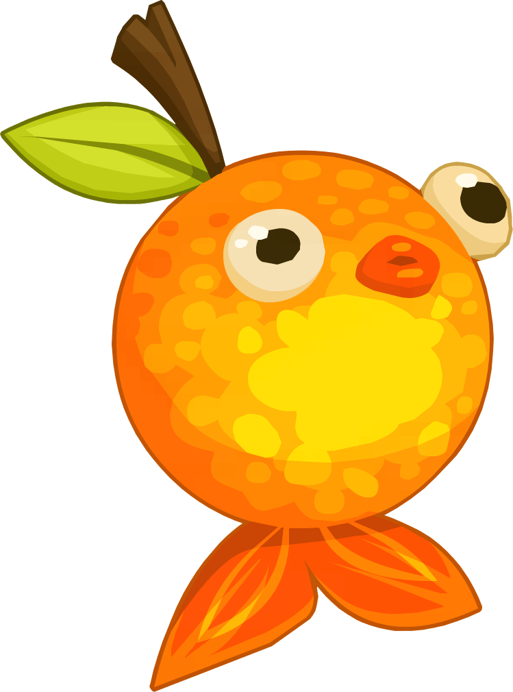 Clicker Heroes Orange Fish transparent PNG - StickPNG