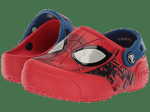 Spiderman Crocs transparent PNG - StickPNG