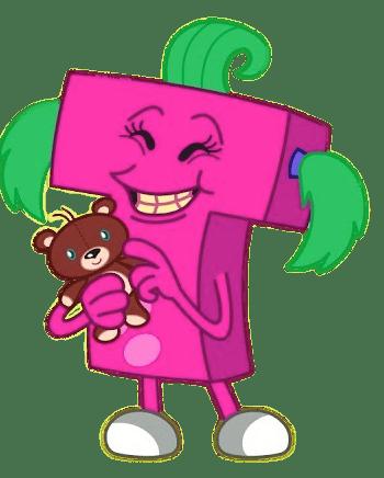 ABC Monster T transparent PNG - StickPNG